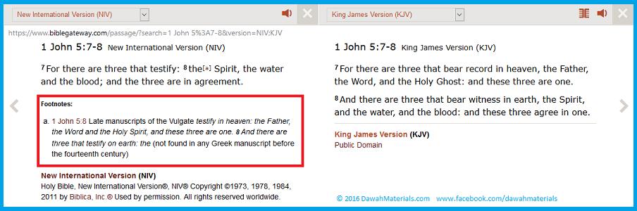 1 John 5.7 8 Comma Johanneum