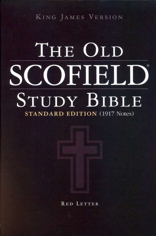 Old Scofield Study Bible Cover