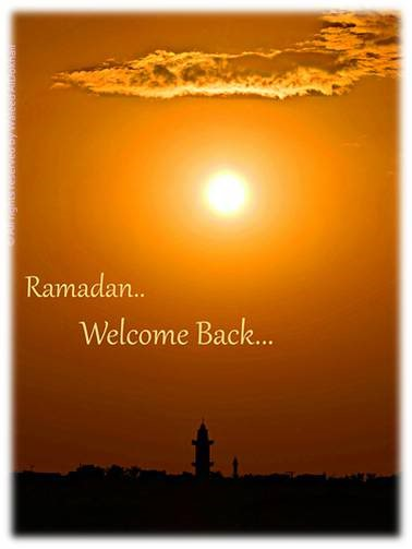 Ramadan Welcome Back