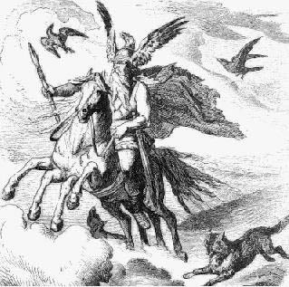 Woden with Horse